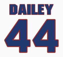 Basketball player Quintin Dailey jersey 44 by imsport