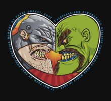 Mutant Vs Cyborg: A Love Story T-Shirt