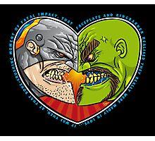 Mutant Vs Cyborg: A Love Story Photographic Print