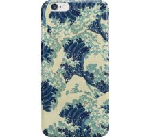 THE GREAT WAVE OFF - Kanagawa  iPhone Case/Skin