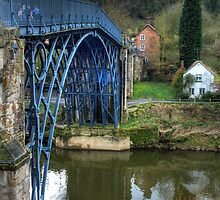 Ironbridge, England by Ann Garrett