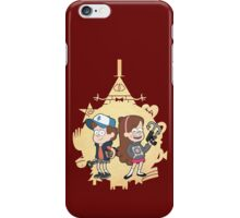 Ask-MysteryTwins iPhone Case/Skin