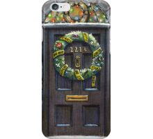 Sherlock Christmas 221 b iPhone Case/Skin