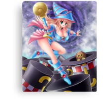 Yu-Gi-Oh! Dark Magician girl, the witch Canvas Print