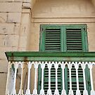 Typical Gozo Balcony by Astrid Pardew