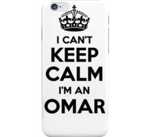 I cant keep calm Im an OMAR iPhone Case/Skin