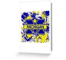 Go Michigan! Greeting Card