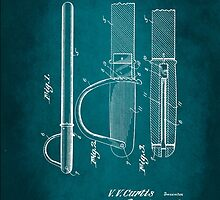 Police Baton Patent 1926 by Patricia Lintner