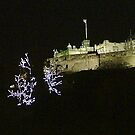 Edinburgh Castle at Christmas by Steven McEwan
