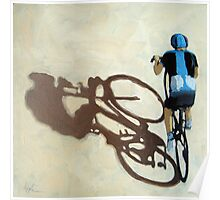 Single Focus Tour de France bicycle oil painting Poster