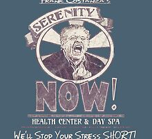 Frank Costanza's Serenity NOW Health Center & Day Spa (distressed) by torg