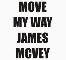 Move my way James Mcvey The Vamps by bandsandyoutube