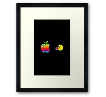 Yummy apple Framed Print