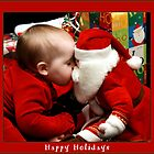 Kissing up to Santa by Stacey Dionne