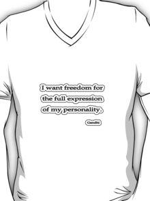 Freedom of expression, Gandhi T-Shirt