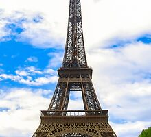Eiffel Tower 11 by John Velocci
