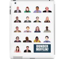 Dunder Mifflin Employee Headshots iPad Case/Skin
