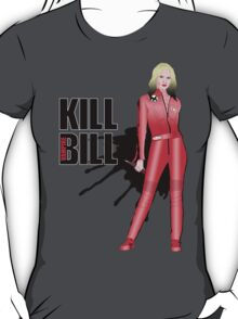 Kill Vampire Bill (Red Version) T-Shirt