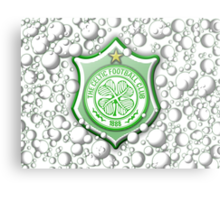 Celtic Bubble 3D Shield Crest  Metal Print