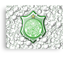 Celtic Bubble 3D Shield Crest  Canvas Print