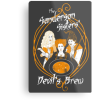 Devil's Brew Metal Print