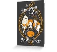 Devil's Brew Greeting Card
