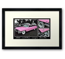 1963 Cadillac Coupe DeVille Framed Print