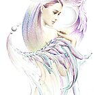"""""""THE VIRGO"""" - Playing with Wings  - Protective Angel for Zodiac Sign by Anna Ewa Miarczynska"""