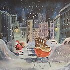 Vintage Card #8 by Tracy Faught