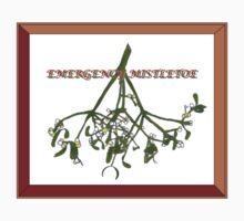 Emergency Mistletoe Framed Kids Clothes