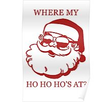 Pimp Santa Poster
