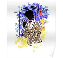 Doctor Who and TARDIS design Poster