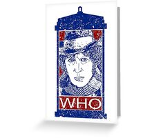 WHO 4 Greeting Card