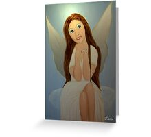 Hope the Christmas Angel Greeting Card