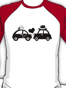 Cute Car Couple (lovers) T-Shirt