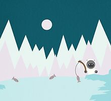 Little Yetis gone fishing by notDaisy