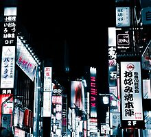 Kabukicho's Signs by xDenisx