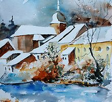 Watercolor chassepierre  by calimero