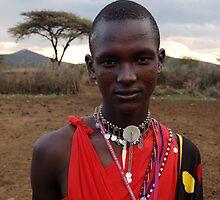 Masai Man by ApeArt