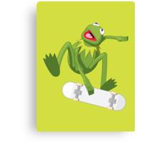 Skate Frog Canvas Print