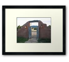 the ranch Framed Print