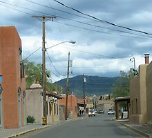 Streets of Santa Fe by Bruce  Dickson