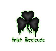 Irish Attitude with Shamrock by IrishLove
