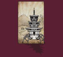 Pagoda-Walker Shadow07 by Scott Robinson