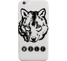 Wolf. iPhone Case/Skin