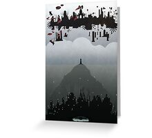 Bioshock Infinite: Rapture & Columbia Greeting Card