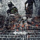 shifting foundations (ego vs shadow) by Vansk