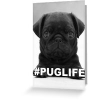 #PUGLIFE Greeting Card