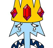 Adventure Time Ice king by Jungyoomi