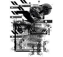 Tek Graffiti Photographic Print
